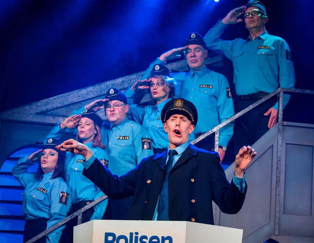 Falkenbergsrevyn Hittepå 2018. Bild: Bo Håkansson, Bilduppdraget